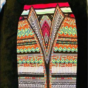 Bisou Bisou- pencil skirt -Stretchy